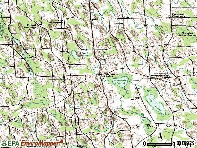 Cato topographic map