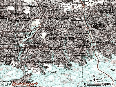 Baldwin topographic map