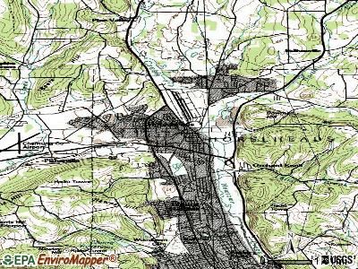 Horseheads topographic map