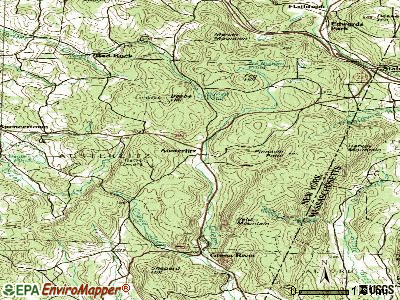 Austerlitz topographic map