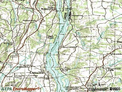 Stuyvesant topographic map