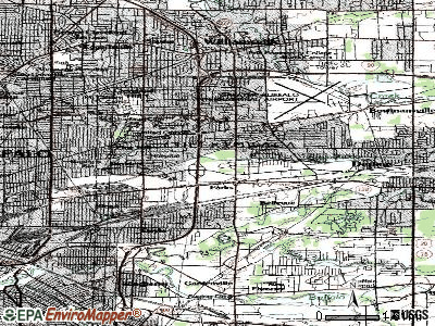 Cheektowaga topographic map