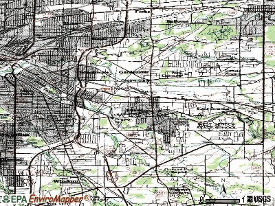 West Seneca topographic map