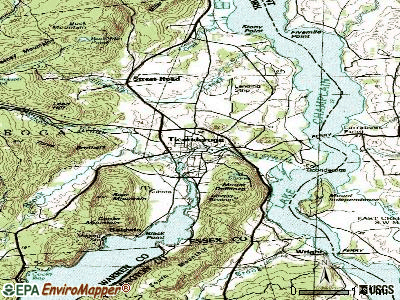 Ticonderoga topographic map
