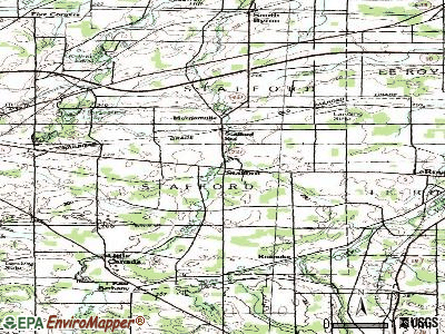 Stafford topographic map