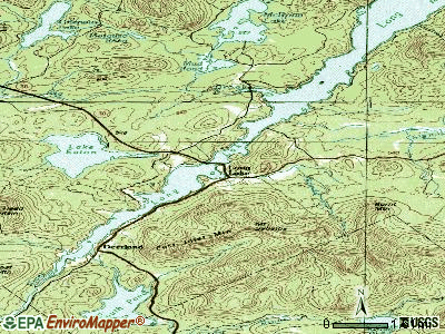 Long Lake topographic map