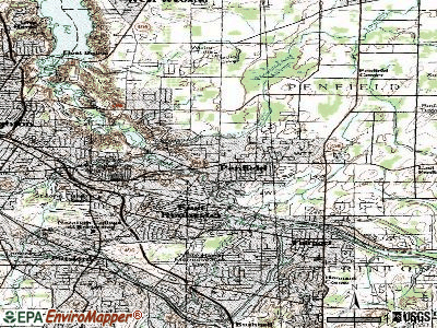 Penfield topographic map