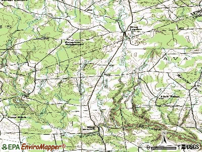 Ava topographic map