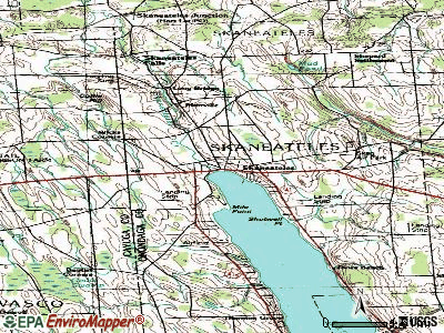 Skaneateles topographic map