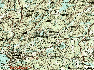 Putnam Valley topographic map