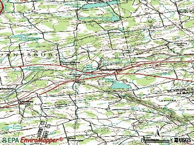 Duanesburg topographic map