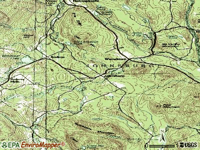 Johnsburg topographic map