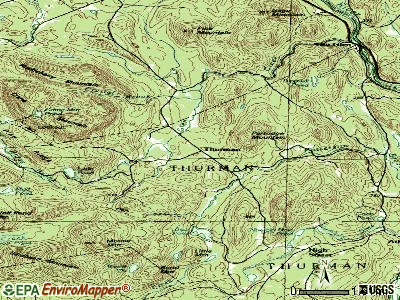 Stony Creek topographic map