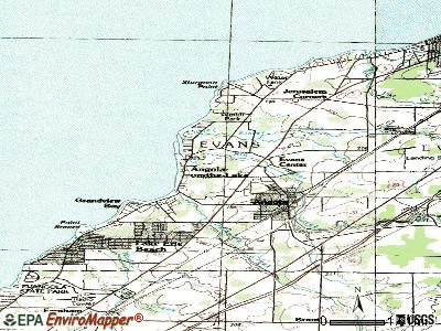 Angola on the Lake topographic map