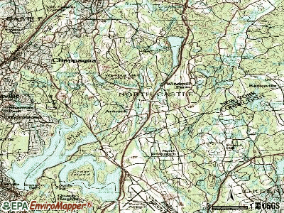 Armonk topographic map