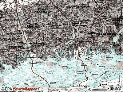 Bellmore topographic map