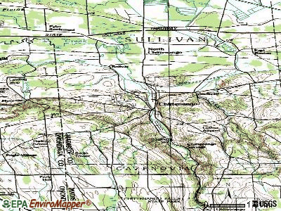 Chittenango topographic map