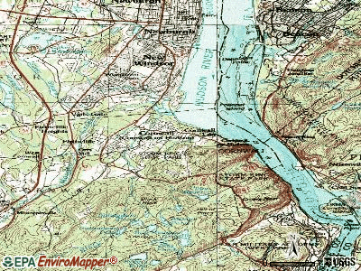 Cortland West topographic map