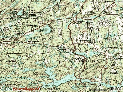 Crompond topographic map