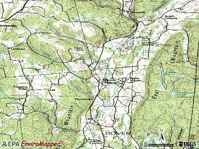 Dover Plains topographic map