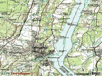 East Kingston topographic map