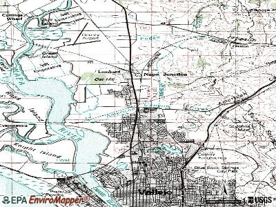 Alum Rock topographic map