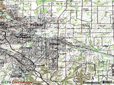 Fairport topographic map