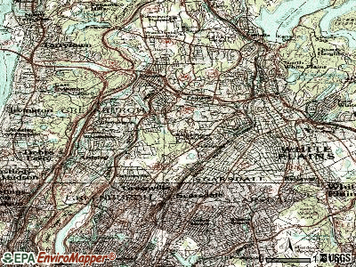 Hartsdale topographic map