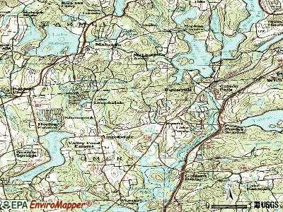 Heritage Hills topographic map