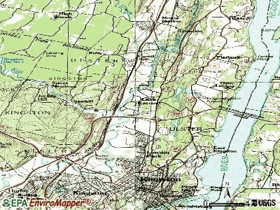 Lake Katrine topographic map