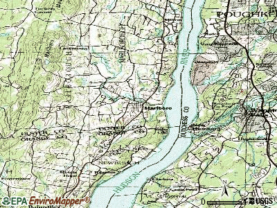 Marlboro topographic map
