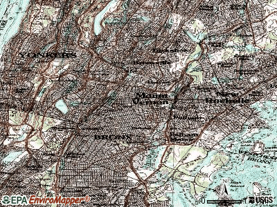 Mount Vernon topographic map