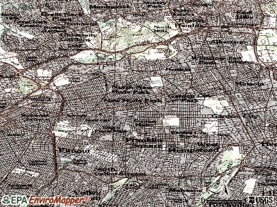 New Hyde Park topographic map