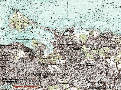 Northport topographic map