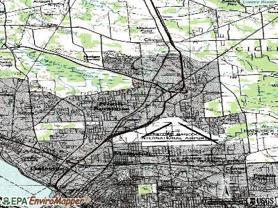 North Syracuse topographic map