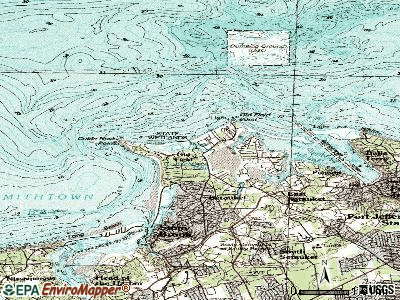 Old Field topographic map