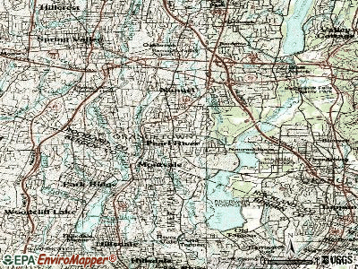 Patchogue topographic map