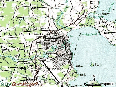 Plattsburgh topographic map
