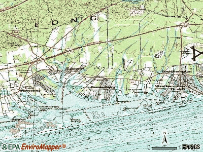 Remsenburg-Speonk topographic map
