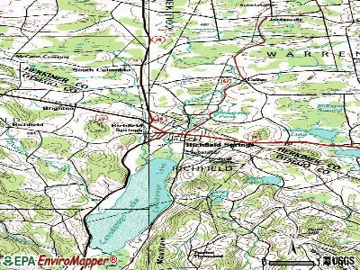 Richfield Springs topographic map