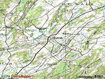 Richville topographic map