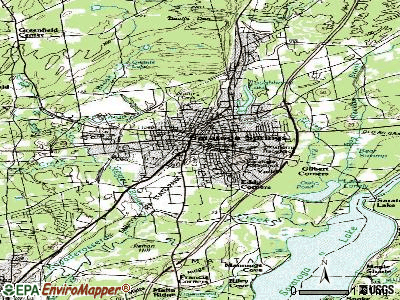 Saratoga Springs topographic map