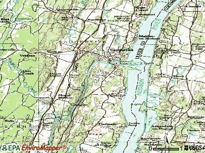 Saugerties South topographic map