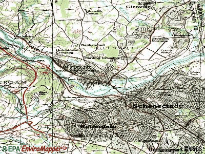 Scotia topographic map