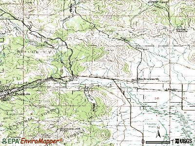Beckwourth topographic map