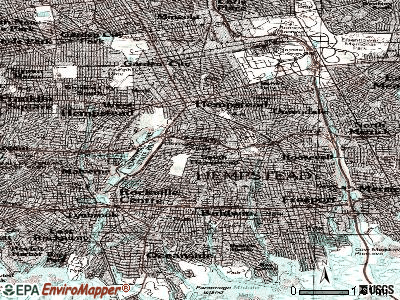 South Hempstead topographic map