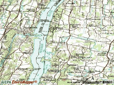 Tivoli topographic map