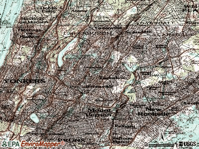 Tuckahoe topographic map