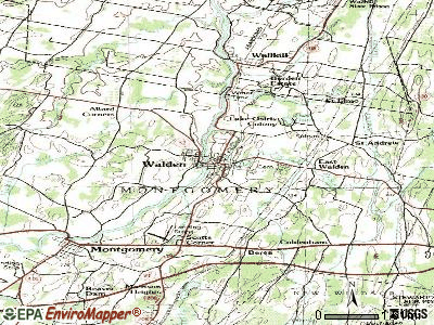 Walden topographic map
