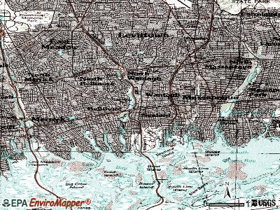 Wantagh topographic map